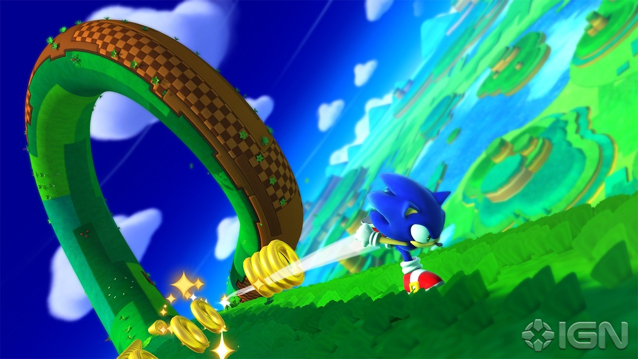 Images 3DS & Wii U de Sonic Lost World